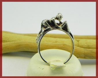 "Silver Ring  "" Eros 69 """
