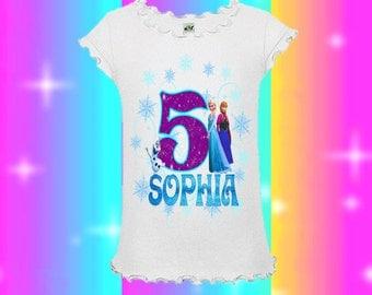 Frozen Birthday Shirt - Frozen Shirt - Elsa Shirt - Elsa Birthday Shirt