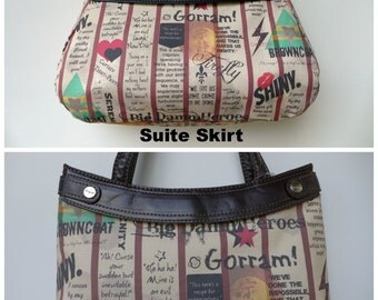 Firefly - Browncoats Unite - Purse Skirt ONLY for Thirty-One Skirt Purse