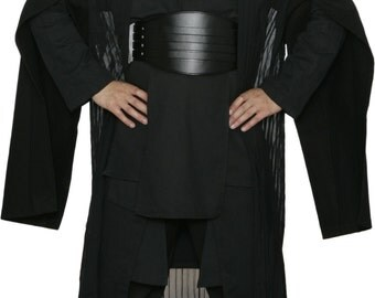 Star Wars Darth Maul Black Sith Costume with Replica Darth Maul Robe and Belt - JRA 1402