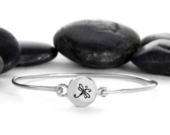 Dragonfly Bracelet, Dragonfly Jewelry, Dragonfly, Silver Dragonfly, Silver Bracelet, Dragonfly Charm, Dragonfly Jewellery, b248SS