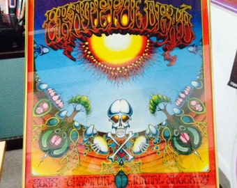 Vintage Grateful Dead Poster Etsy