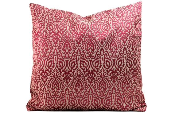 Decorative Pillows 26 X 26 : Jacquard throw Pillow Cover 26 x 26 inch Euro Sham by Fabricasia