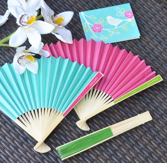 Customized research paper hand fans