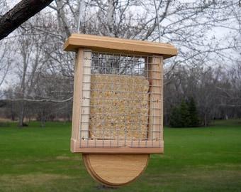Cedar Suet Bird Feeder - Suet Feeder