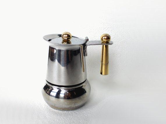 Italian Coffee Maker One Cup : Italian espresso maker GB inox 18 10 moka espresso single cup