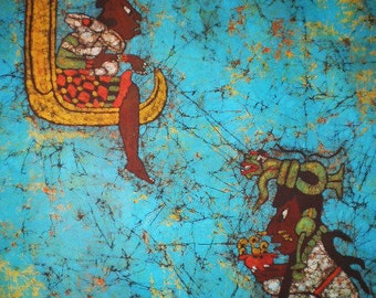 Mayan Goddess of Women and Medicine (Ixchel) and Moon Goddess