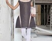 Metallic plaid dress, Girls Party Dress, Special Occasion Fashion Dress
