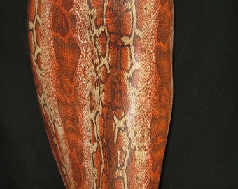 Handmade Casual Pencil Skirt  Bacon  Animal  print
