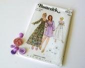 butterick 70s dress sewing pattern 6123 - 1211130