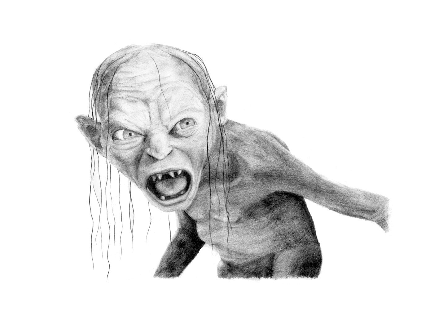 Drawings For The Lord Of The Rings Movie
