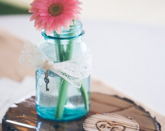 Vintage Blue Ball Mason Jar,Quart,wedding centerpiece,ball perfect mason,floral arrangement,vintage mason jar,rustic wedding,blue ball jar