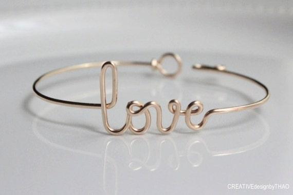 Dainty Love Bracelet