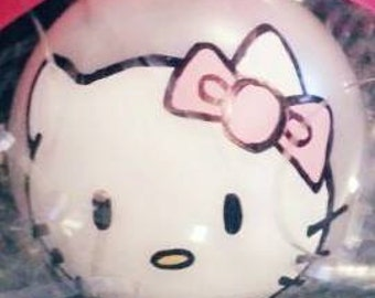 Personalized Holiday Ornament Hello Kitty