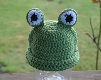 Frog Beanie - Ready To Ship
