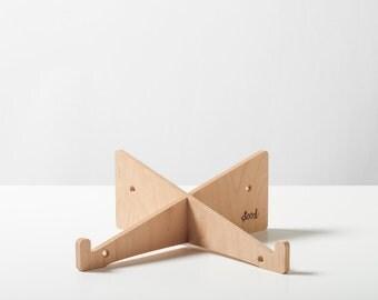 laptop stand made of wood (FSC - EU beech wood)