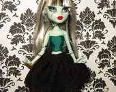 Monster High Doll Handmade Silk Corset Bustier Custom Order Dolls