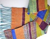 Twill Wool Scarf - Multi