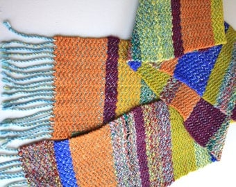 Twill Wool Scarf - Multi