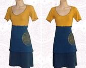 Organic Shirt *Sale ready to ship in Medium* - Handmade with organic cotton and hemp jersey - Mandala print