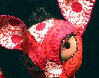 Custom Soft sculpture Chihuahua cloth dog sculpture doll
