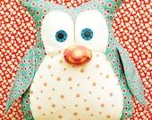 Jennifer Jangles Okey Dokey Owl Sewing Pattern