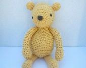 PDF Crochet Pattern Amigurumi Bear