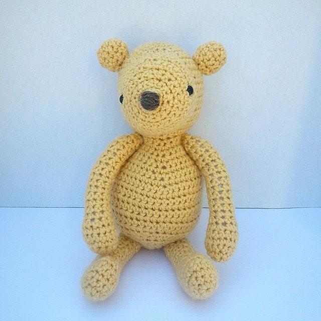 PDF Crochet Pattern Amigurumi Bear by lindalu on Etsy