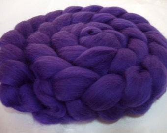 DEEP PURPLE, merino wool roving, spinning fiber, merino wool tops, 20 micron, merino felting wool, felting wool,dread wool,dolls hair, 3.5oz