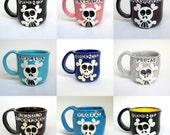 Pick Your Poison  Custom Skully Mug