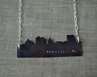 Asheville Skyline Necklace
