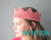 Royal Crown Knitting Pattern - PDF Download - Instructions for Bulky and Worsted
