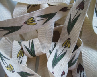 vintage cotton daisy trimming 2 yards