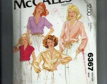 Simplicity Missses' Set of Blouses Pattern 6367