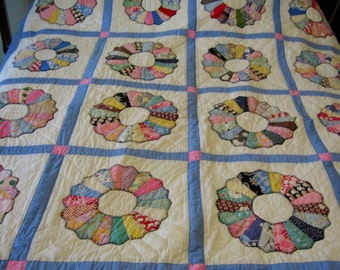 Quilt Dresden Plate Design Free Shipping to Continental U.S.