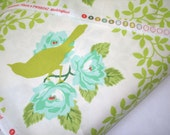 Free Spirit Heather Bailey Up Parasol fabric Mockingbird in Chartreuse 2 yards