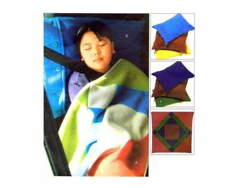 Cozy Lap Quilt Pillow Cases McCalls 4185 Sewing Pattern UNCUT