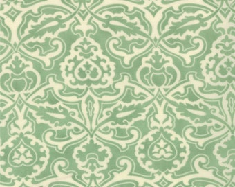 SALE - Honeysweet - Scrollwork in Pond: sku 20214-16 cotton quilting fabric by Fig Tree and Co. for Moda Fabrics - 1 yard