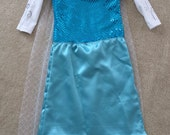 Elsa Frozen Princess Costume - Child sizes