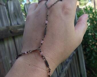 Rose Quartz Slave Bracelet