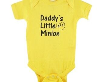 Daddy's Little Minion onesie / creeper