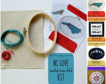 DIY cross-stitch kits