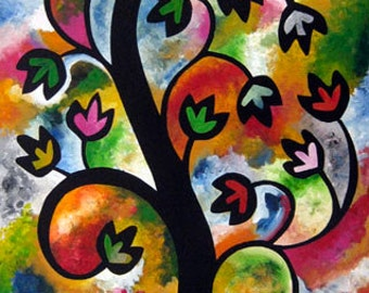 Tree of Life 1 - 8x10 matted print by Joel Traylor