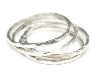 Petite Sterling Stacking Ring Custom Size