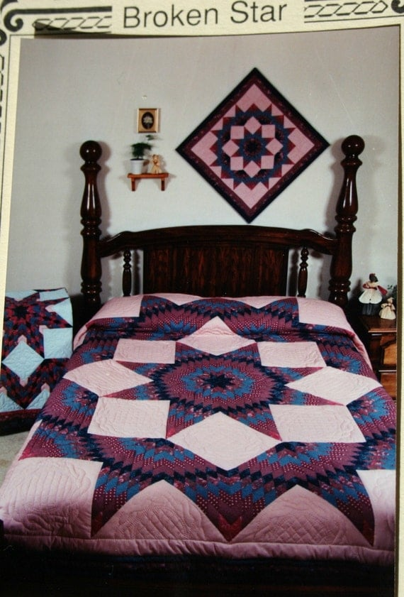 Broken Star Quilting Pattern Heritage Quilts Template Free