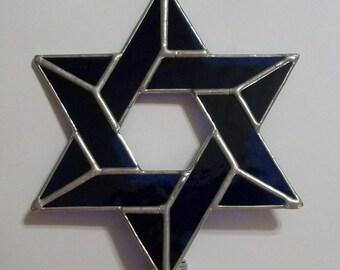 Jewish Star Christmas Tree Topper