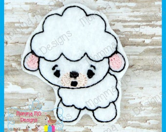 Lamb Sheep Machine Embroidery Design