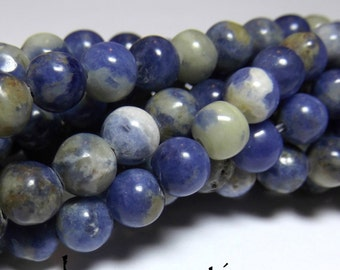 Sodalite 6mm Rounds 16IN Strand