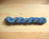 Indigo-dyed Sashiko thread   Pale Blue color 100 meters (110yards) skein