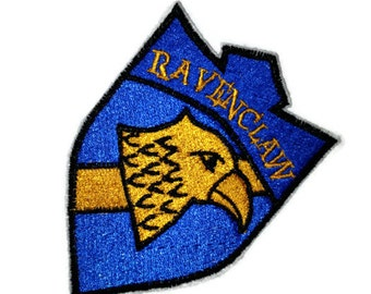 Ravenclaw Patch interpreted from Mythology, Witchcraft and Wizardry - Ready to Ship